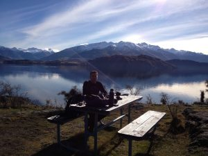 Living the dream in Wanaka. New Zealand