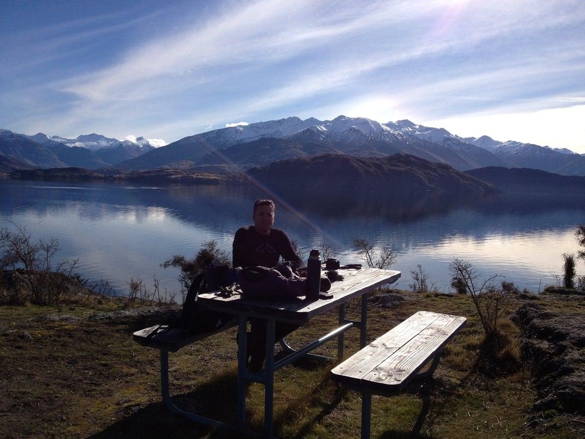 Living the dream in Wanaka. New Zealand