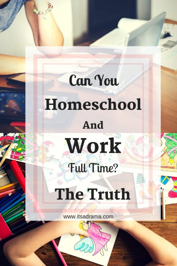 homeschooling your children while you work full time. is it possible. Or worth it?