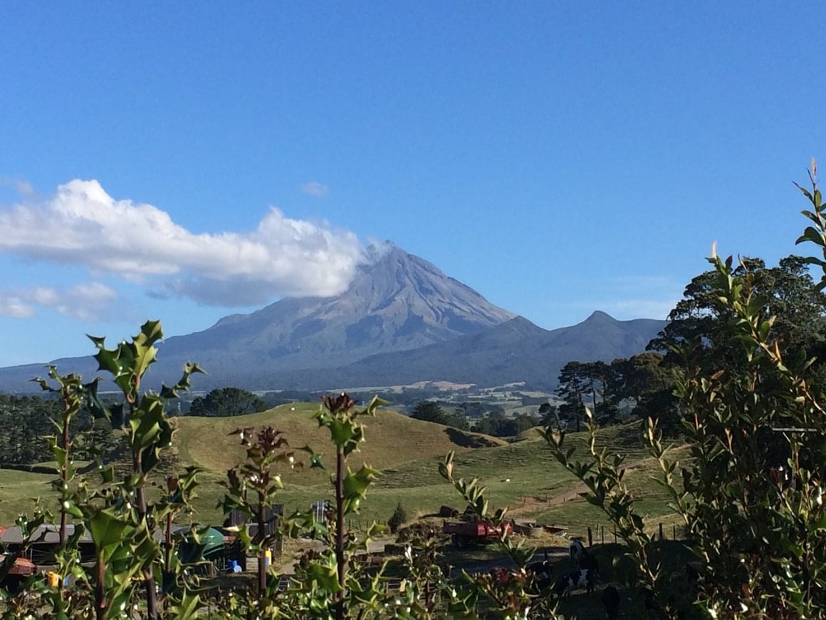 New Zealand Mt Taranaki