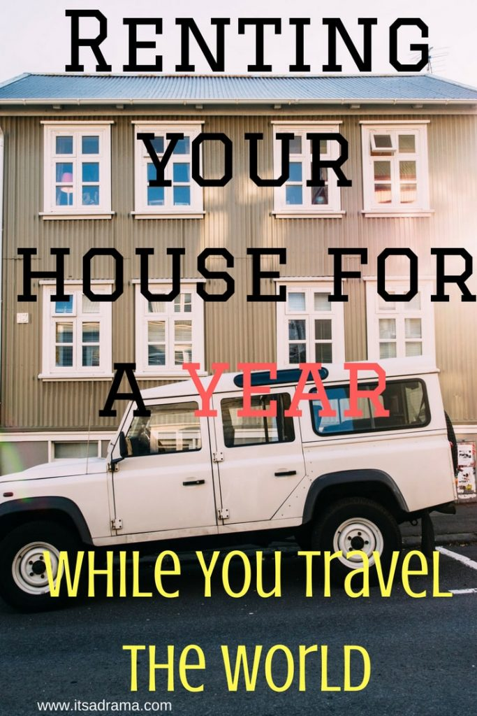 a travel blog about renting your house for a year while you travel the world with your family.