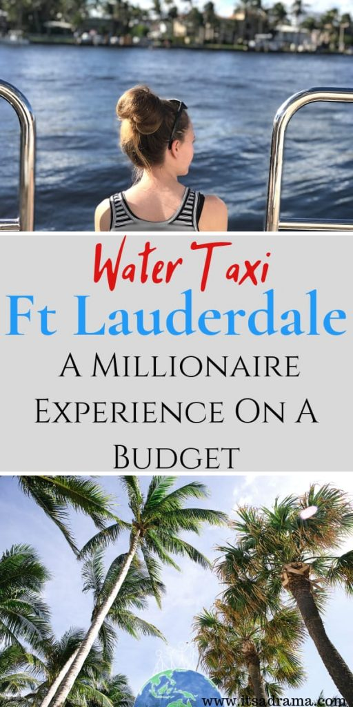 Things to do in Fort Lauderdale on a budget. The water taxi