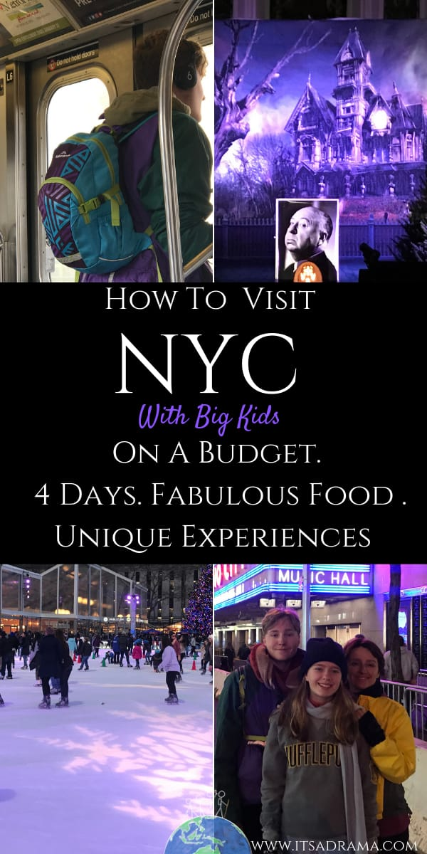 NYC Trip with kids. Travel on a budget