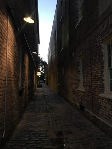 A walking ghost tour is one of the many things to do in Charleston SC at night.