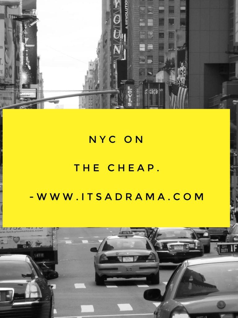NYC on the cheap