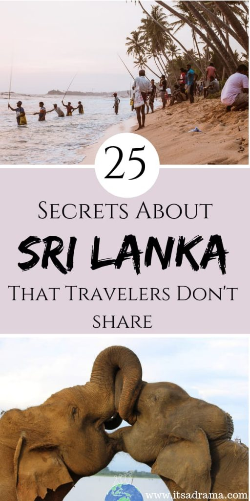 Sri Lanka travel guide. 25 Secrets that travelers don't share