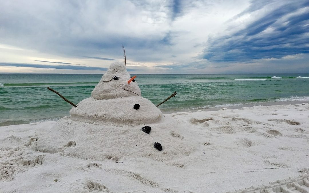 Christmas on the beach? No.That's Just weird.
