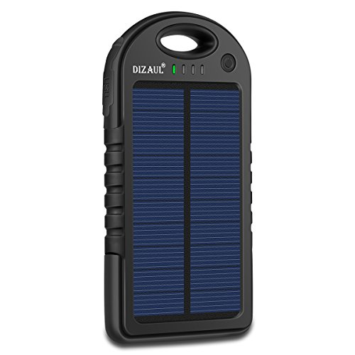 Solar charger for teenagers who travel and need to keep in touch.