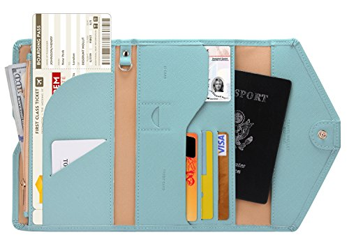 A multi purpose wallet for essential plane travel
