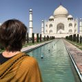 A travel blog on a visit to the Taj Mahal without the crowds and selfie seekers