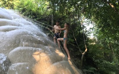The Sticky Waterfall in Chiang Mai. A Bizarre Experience!