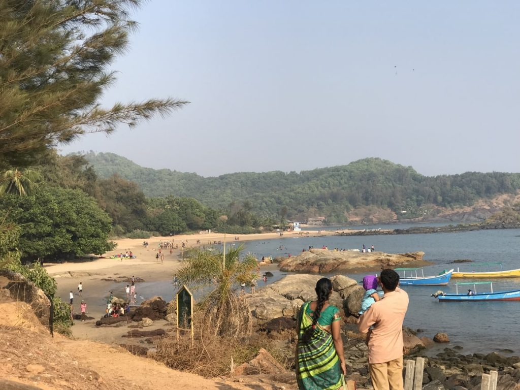 A travel blog about the secluded beaches in India