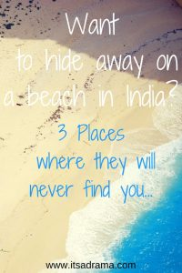 In search of hidden beaches in India