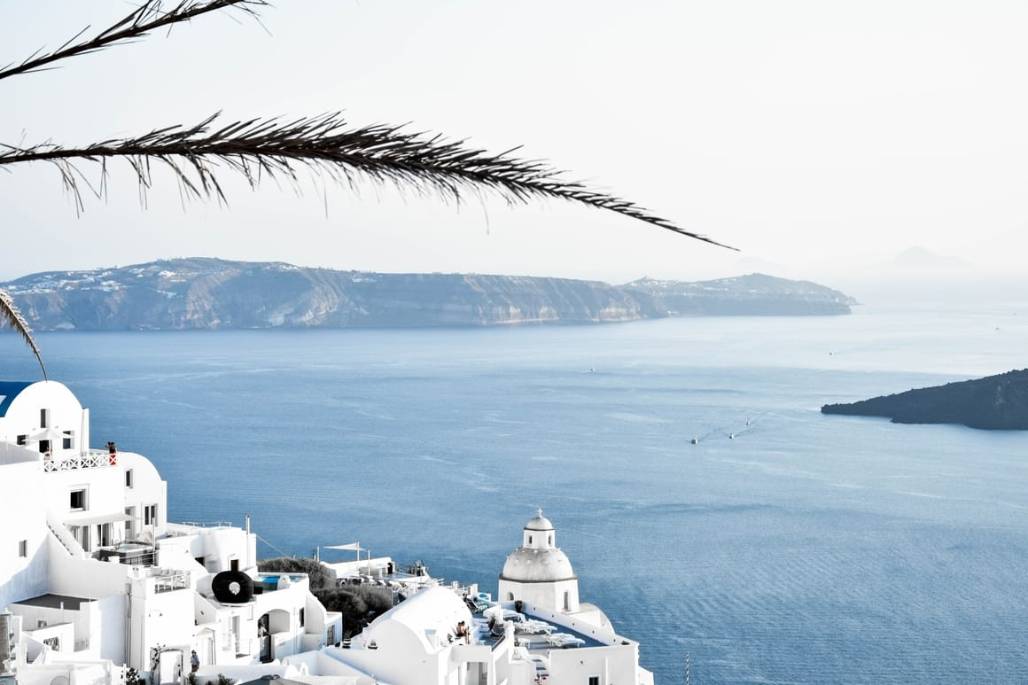 Taking kids to Greece. An idylic location in Europe to take children