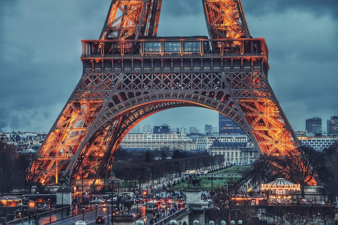 The Eiffel Tower. Paris. The best destination in Europe for kids