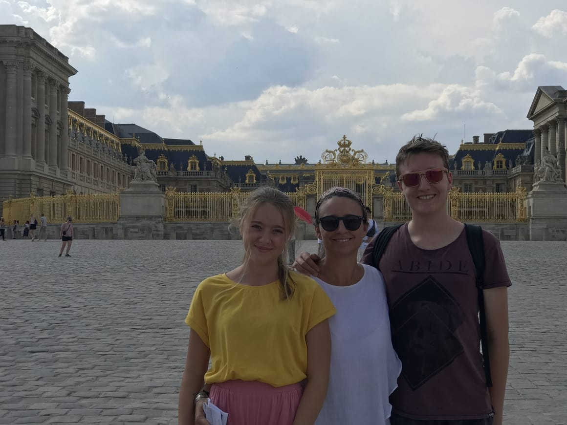 Versailles. The perfect place to visit with kids