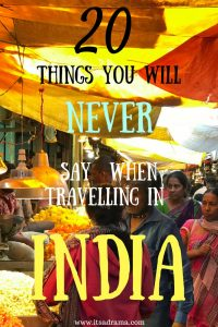 travelling in India travel blog