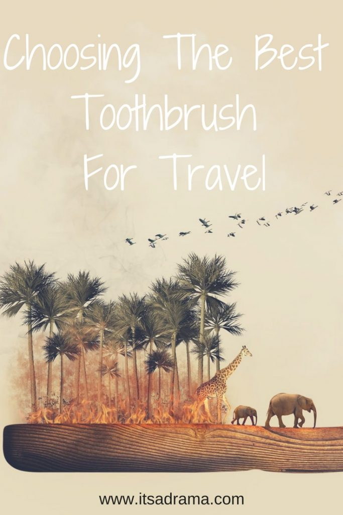 A review of the best toothbrush for travel in 2018
