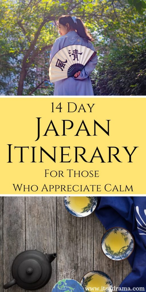 Two week itinerary of Japan