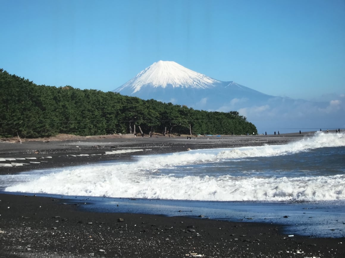 Mt Fuji in Japan. A mountain worth adding to your travel itinerary