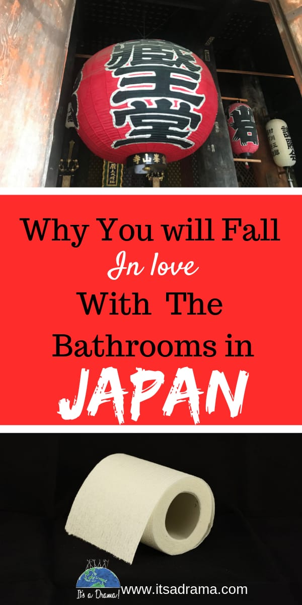 Life in Japan and the bathroom experience