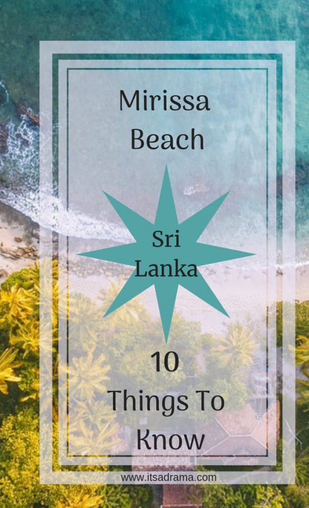 Pin for Mirissa Beach sri lanka