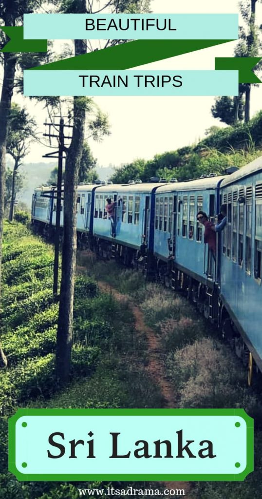 The most beautiful train journey in Sri lanka