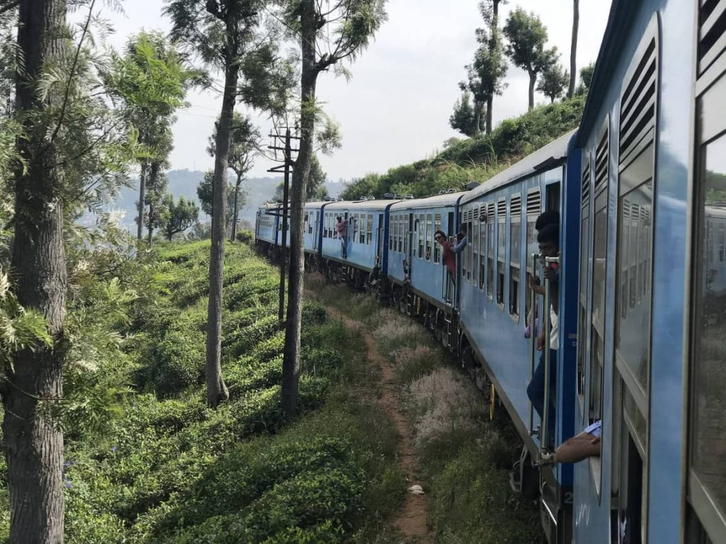 best train journey in Sri Lanka