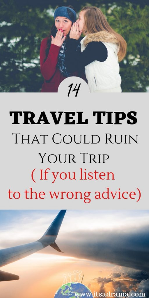 travel tips for traveling the world