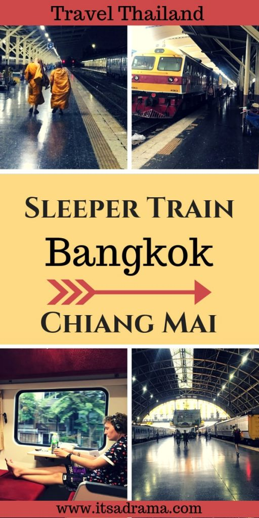 Taking the overnight sleeper train from Bangkok to Chiang Mai. All you need to know.