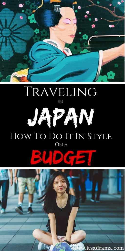 traveling to Japan on a budget