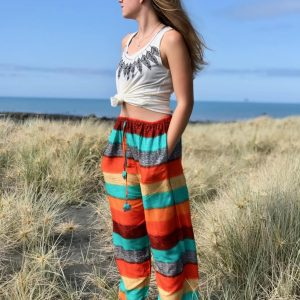 Harem pants|rainbow pattern||yoga pants