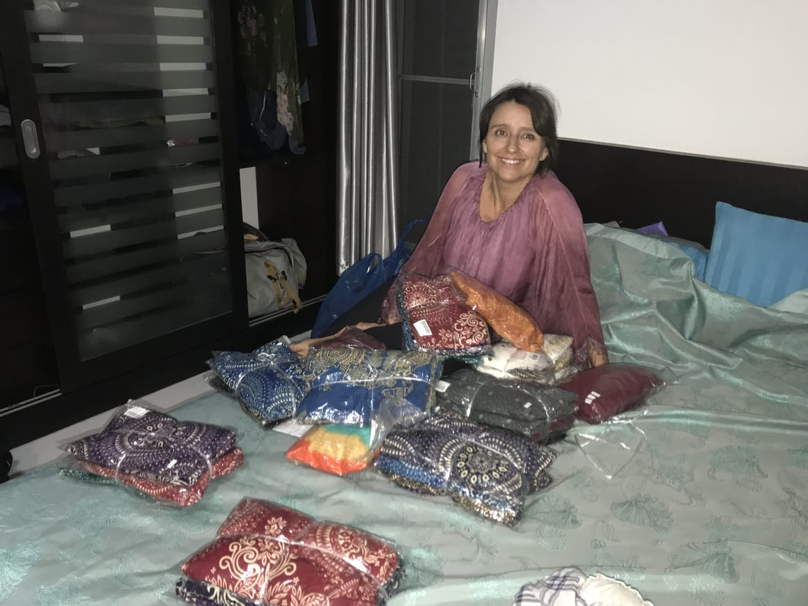 buying pants wholesale in Thailand