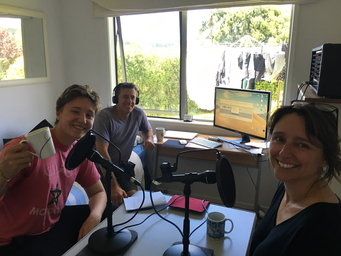 Parenting podcast Afraid to travel long term