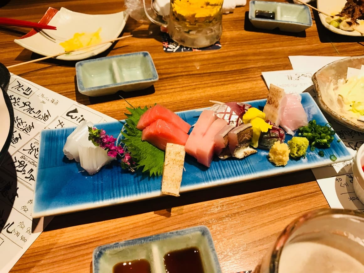Things not to do in Japan. Worry about the portion sizes of the food