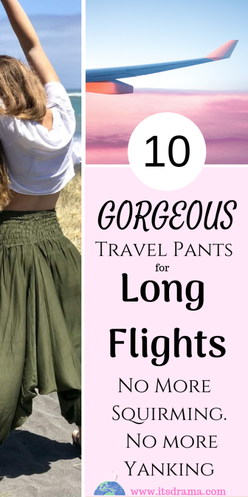 best travel pants for long flights