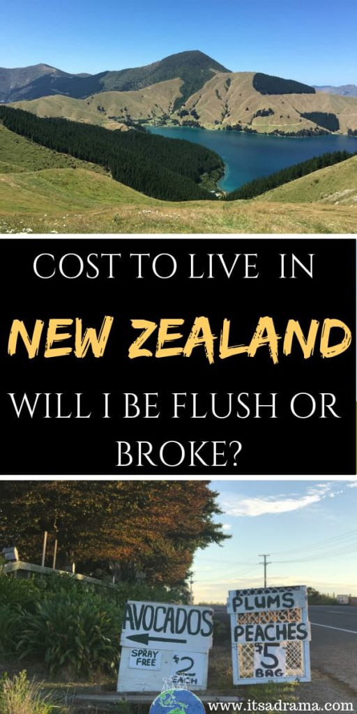 Cost to live in New Zealand Pinterest