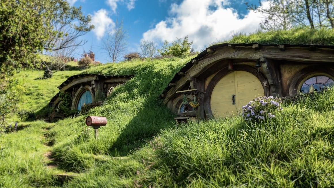 New Zealand Hobbit hole