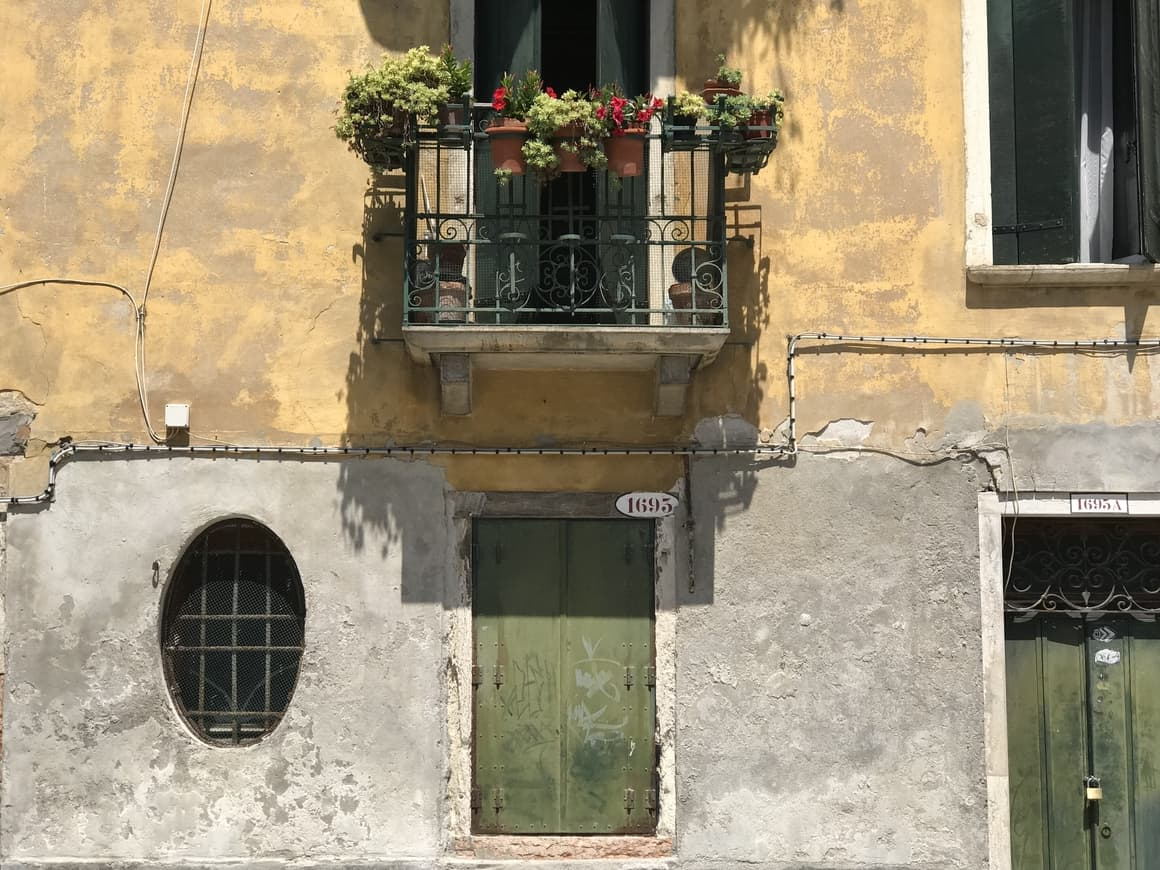 A house in Italy. Italy tips for travel