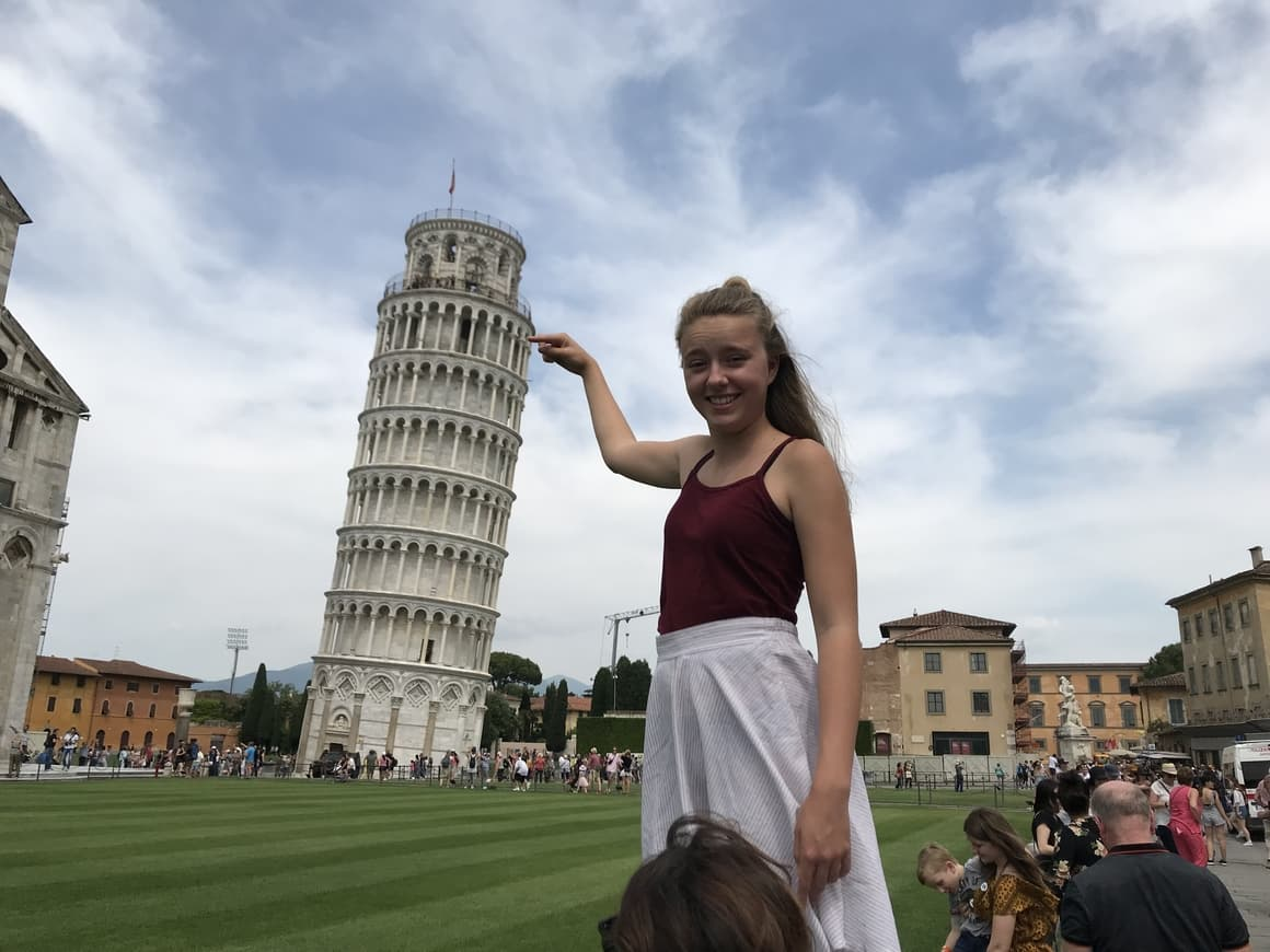 Leaning Tower Of Pisa. Taking Kids to Italy tips
