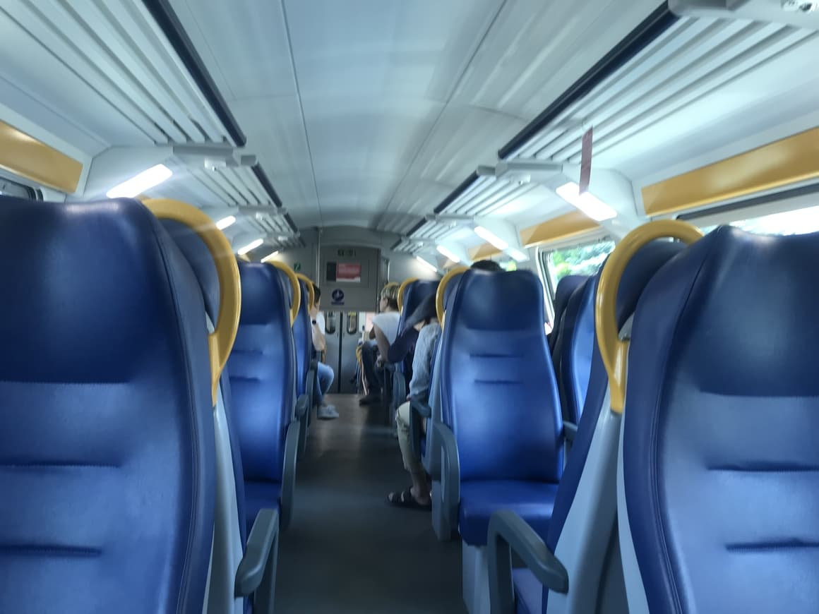 A train in Italy. Italy travel tips on how best to vist the country