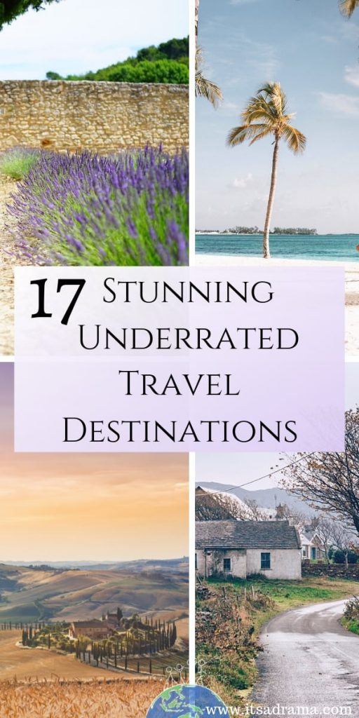 Underrated & Unique Gorgeous Travel Destinations