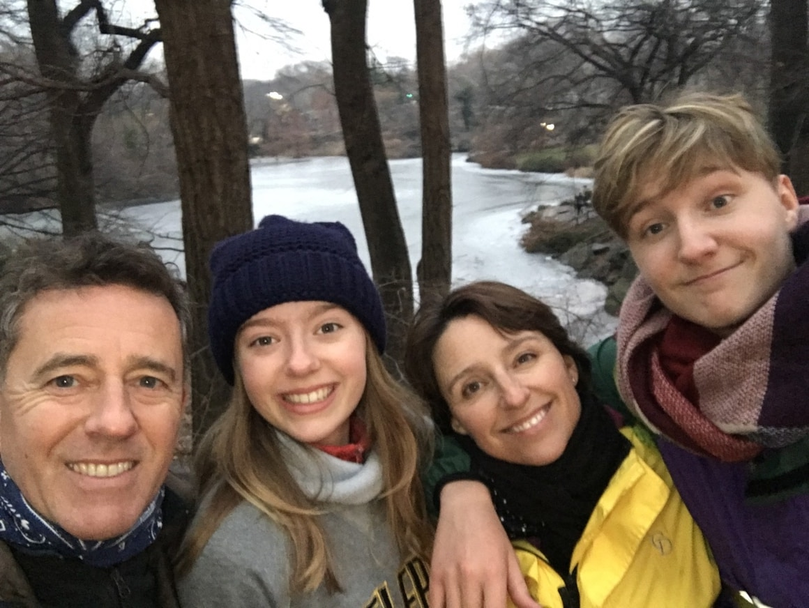 A Family who started something new and went travelling around the world for a year