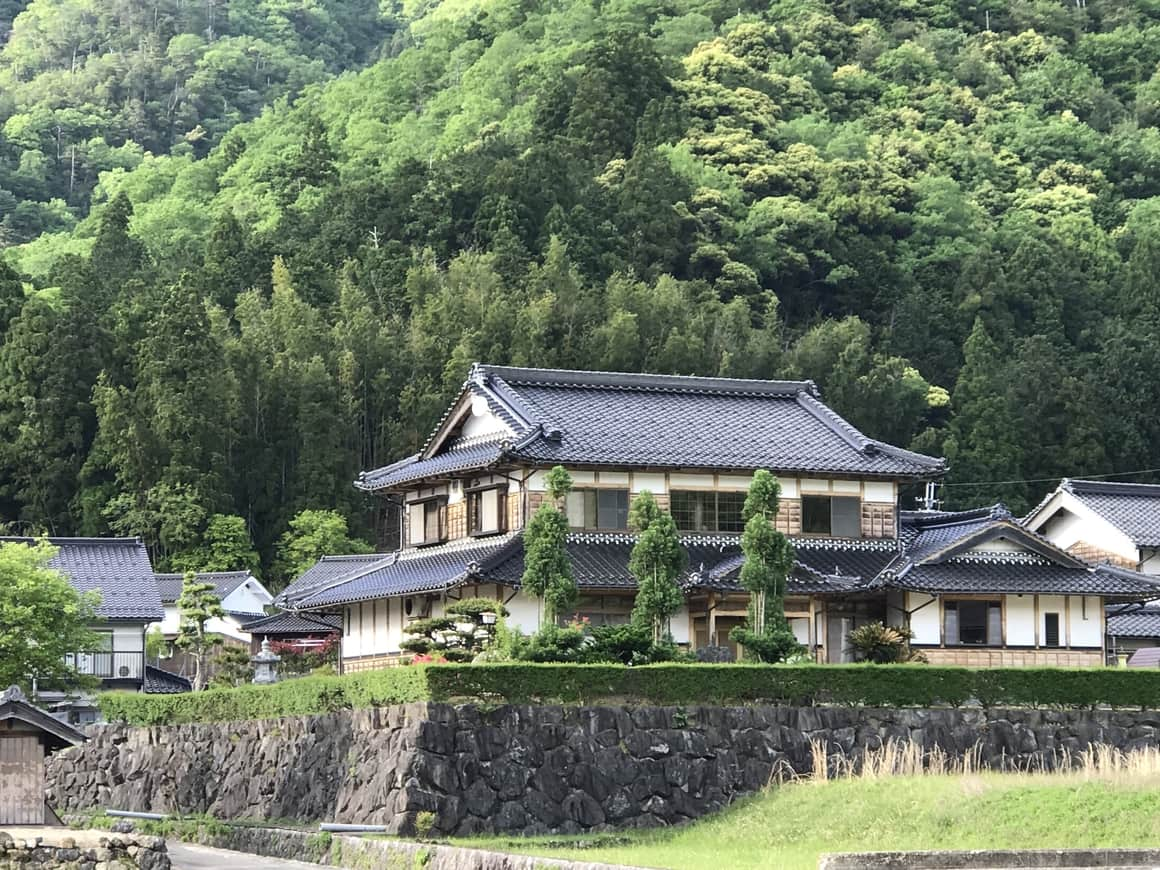 House in Japan. An underated and unique travel destination