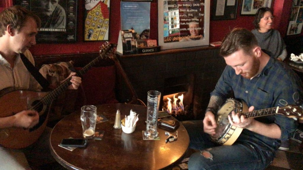 Musicians in a pub in Ireland. Ireland tips for your first time here on vacation