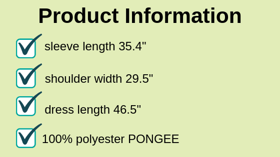 product information for the best rain poncho