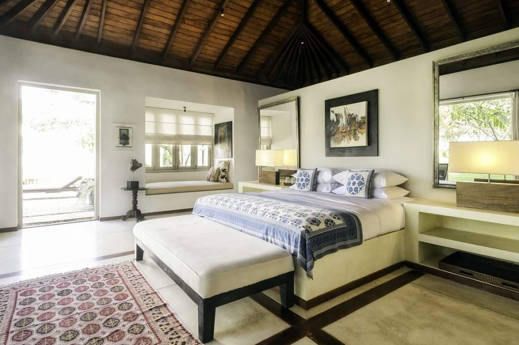 Bedroom in a Sri Lanka villa