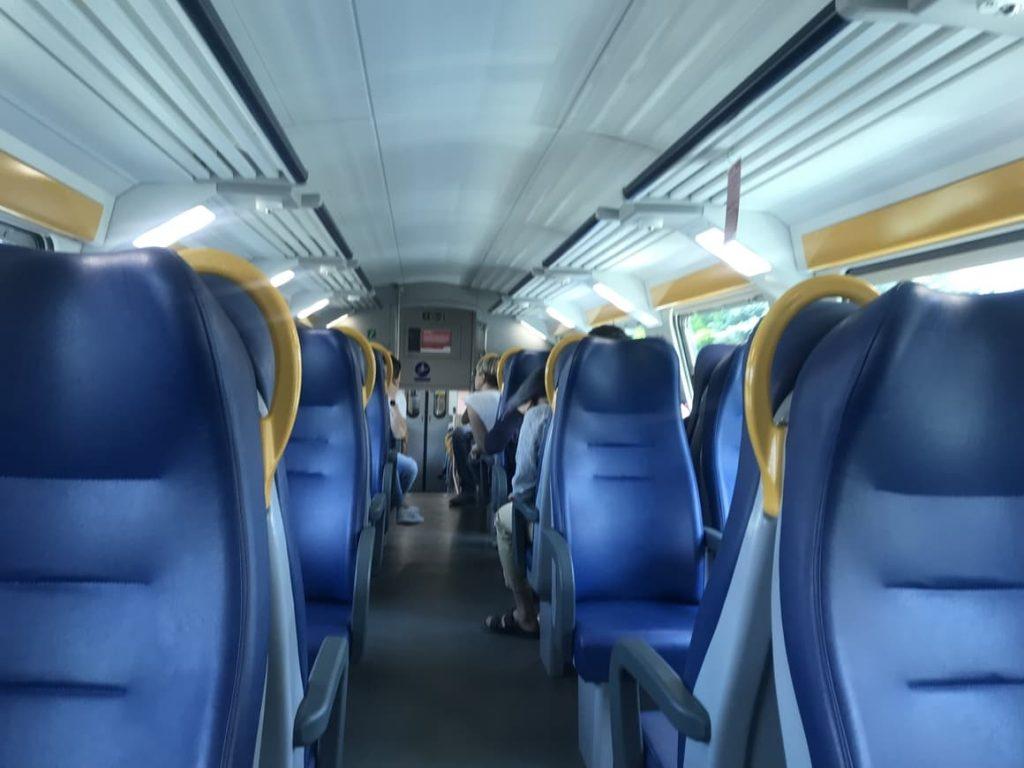 Italian train.