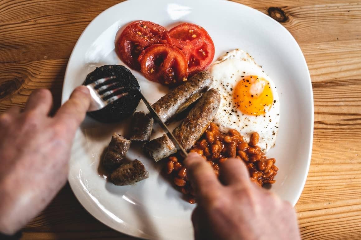 Irish breakfast. Ireland travel tips