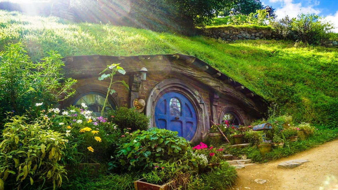 Hobbit house in New Zealand